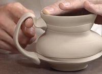 Pottery - handles