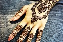 henna design / make beautiful inai for my hands