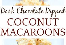 Coconut drop cookies
