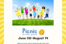 Picnic in the Park - Summer Feeding Programs / During the school year many children rely on free and reduced-price breakfasts and lunches provided by the School Breakfast and National School Lunch programs. But what happens when school is out? The Idaho Foodbank's Picnic in the Park program provides nutritious lunches for food-insecure children during the summer months when the school lunches they depend on are unavailable.
