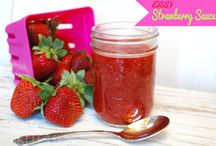 Strawberry Dishes / Strawberries can be used for snacks, in salads, as desserts, in drinks and more.  See all the fantastic ways you can use my favorite fruit with all these strawberry recipes.