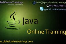 Java online training,  Java training – Global Online Trainings / Global Online Training offers the best Java Online Training with the IT industry specialists as our trainers are experienced certified tutors