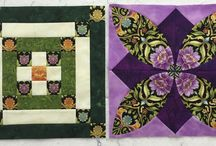State Block challenge / Follow me and make all 50 of the state blocks. The challenge is to fussy cut some part of the block. Winners will be chosen every week. Follow my blog to get the free blocks each week. http://gatewayquiltsnstuff.blogspot.com/