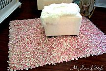 DIY shaggy rug