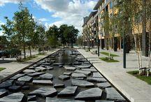nowczesne parki miejskie