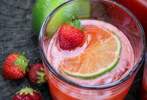 Modern Drinks / alcoholic and non alcoholic drink recipes from mimosas to frozen lattes