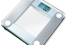 "Precision Digital Bathroom Scale / The EatSmart Precision Digital Bathroom Scale is versatile, easy to use and great for any home. Simply step on the scale and in seconds you'll have an accurate readout on the EatSmart's oversized 3.5"" LCD display. Its modern, sleek design of tempered glass compliments any surrounding and weighs up to 400 lbs. 