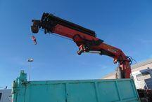 Used knuckle boom crane Palfinger PK45000