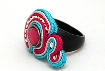 Soutache Ring pierścionki sutasz