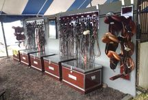 Equestrian Organization / Keep your horse, barn, closet and tack neat and organized with these tips and products.