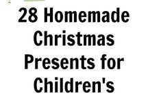homemade Christmas presents kids