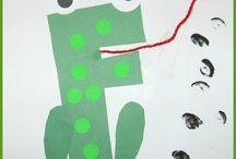Homeschooling: ABC Crafts