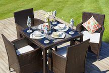 Rattan Garden Furniture Dining Sets / Rattan Dining Sets.