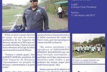 #vaquerosreynosa Boletines Oficiales / Boletines Oficiales del Club Vaqueros de Reynosa