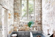 Design - Bathrooms / Bathroom Interior design inspiration / by Jessie Houlihan Bingen