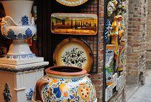 Talavera Pottery / Love the gorgeous colors