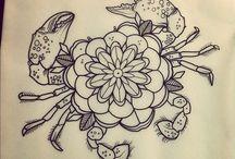 Sea art/ Tattoos