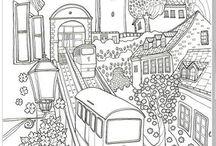 desenhos de de livros colorir adulto