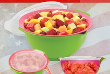 Good Cook ProFreshionals Fresh Cut Fruit Bowl recipes / Our new Good Cook ProFreshionals Fresh Cut Fruit Bowl drains the juice from the fruit keeping it fresher longer! Hurry to your nearest Bed Bath & Beyond and grab one in time for all of those upcoming summer BBQs and check out fabulous new recipes from our Good Cook Kitchen Experts using the bowl!  / by Good Cook