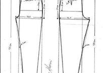 patrones pantalones