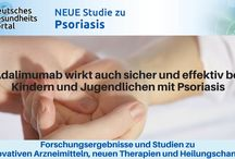 Studien zu Psoriasis/ Schuppenflechte