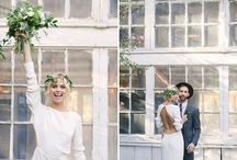 M O D E R N / Inspiration for a Mid-Century Modern wedding.