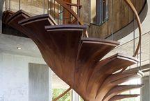 Contemp Indoor stairs
