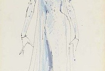 FASHION DRAWINGS / illustrations of famous people and what they are wearing / by Lorraine Allan