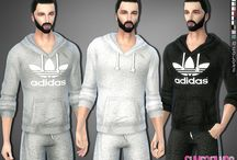 look uomo the sims 4