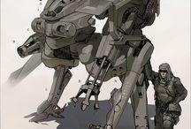 ART Robots, Mechs / by michaelhuyouren