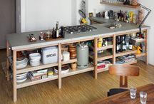 Küchen Design Arbeitsplatte