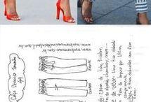 pantalón y moldes