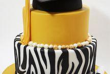 Graduation / Cakes and decorations / by Carol VanBerschot
