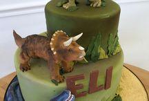 bday cake Dinosaur