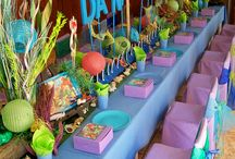Mermaid Birthday Party / by Lisa Binz