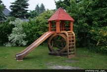 Wooden playgrounds / Playgrounds are the works of functional art for us and we treat them as such.We take great care of each detail and we make each playground different.More information is available on our Internet website: www.artefakty.org