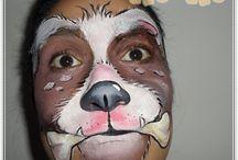 Maquiagens de animaizinhos / www.pintalegria.blogspot.com