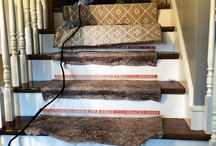 Installing A Stair Runner / We've created a systematic approach to fabricating broadloom carpet into custom rugs.  / by The Carpet Workroom