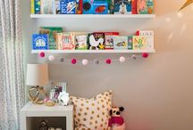 kids' reading corner project