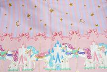 Sewing: Lolita fabric