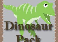 Dinosaur Theme Activities for kids / Dinosaur Crafts and Printables for kids / by Cassie Osborne (3Dinosaurs.com)