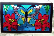 Stain glass window ideas