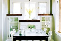 Dining rooms / by Rachel Connell