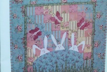 Easter quilt ideas / by Helen O'Donohoe