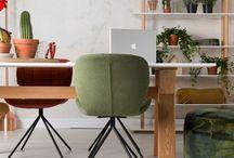 Mesas escritorio / Opciones de mesas para habilitarte tu rincón de trabajo en casa. Escritorios modernos de estilo nórdico, industrial y contemporáneo.