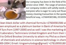 Black dollar chemical and activation powder +27604581586 / Black Dollar & SSD Super Automatic Solution Cleaning Chemical in India +27604581586 We will Supply SSD Solution, ssd chemical, mercury ,activation powder, ssd super automatic solution, vectrol paste, Tebi-Manetic solution, Super Automatic Solution, for Cleaning Black Stain, Anti Breeze, Black Dollar, black money, Black Currency, Black Notes, Defaced currency, defaced money and Other Currency.