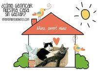 Gatificar - Miau, Sweet Miau / Muebles para gatos que los humanos amarán tener en casa, gatificaciones divertidas para el salón, sencillas o sofisticadas, pero que adorarás. Arquitectura felina. Mi casa es donde está mi gato, y donde es feliz.