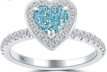 Fancy Colored Diamond Engagement Rings / by Liori Diamonds