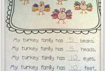 Classroom...holiday thanksgiving