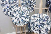 diamant tekenen / schilderen